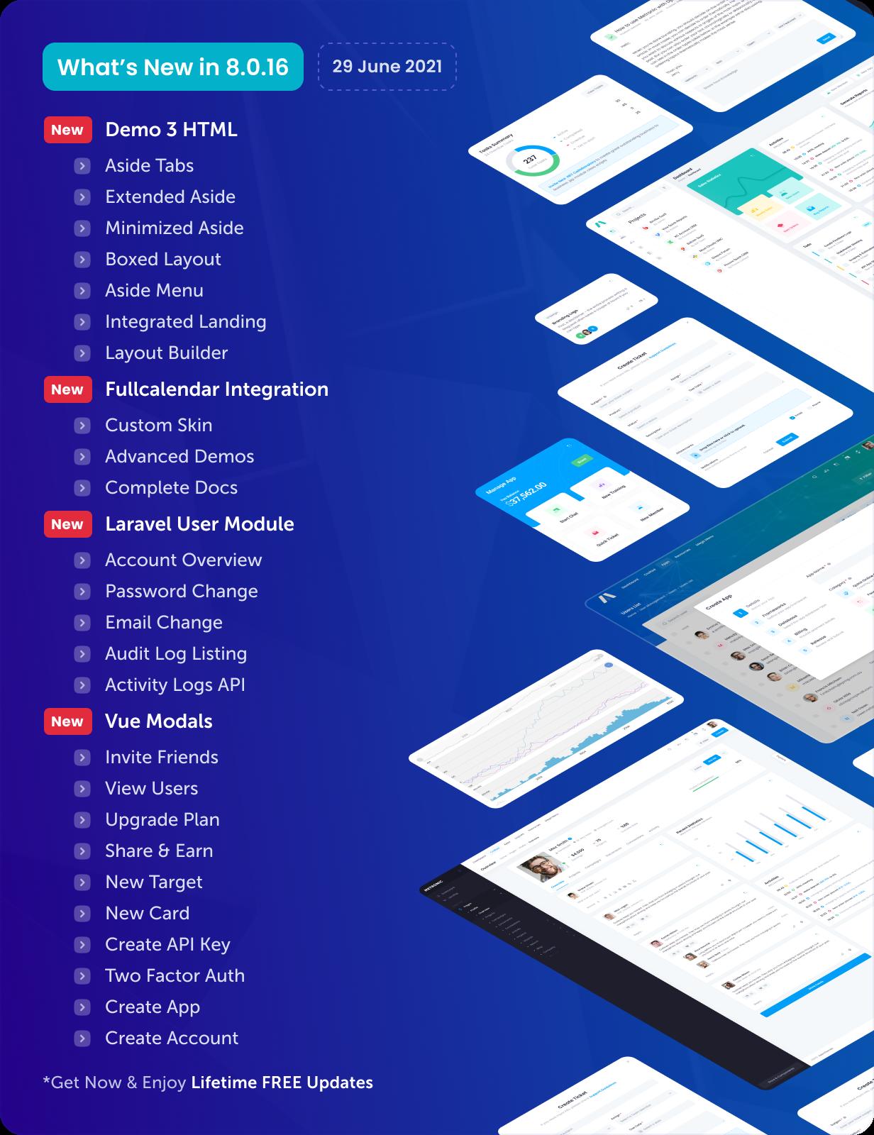 Metronic - Bootstrap 4/5 HTML, VueJS, React, Angular & Laravel Admin Dashboard Theme - 18