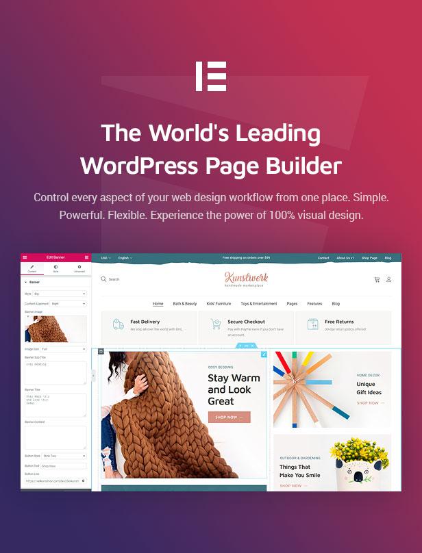 Kunstwerk - Handycraft Marketplace WordPress Theme - 4