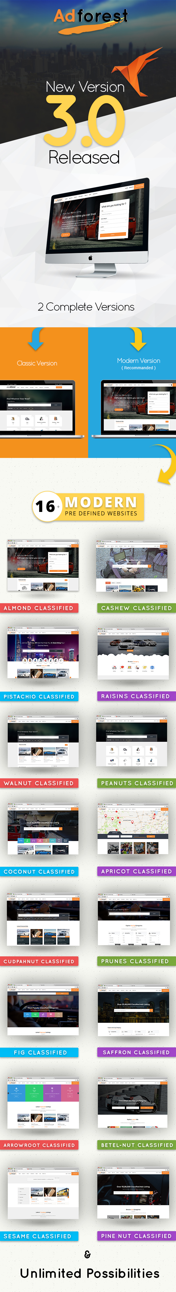 AdForest - Classified Ads WordPress Theme