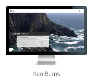 Gris Ken Burns Background