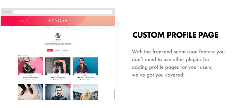 Venosa - Magazine & Blog WordPress Theme - 14