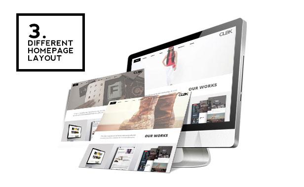 CLBK - Responsive One Page Portfolio Theme - 1