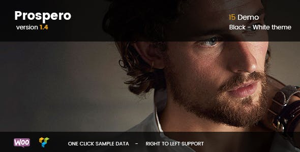Prospero - Fashion Jewelry Watch and Glasses WooCommerce Theme - WooCommerce eCommerce