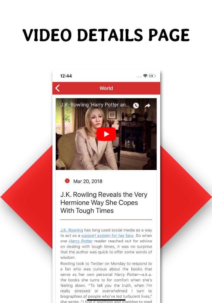 Full functional news app with admin panel Firebase Firestore & Ionic Framework - 5