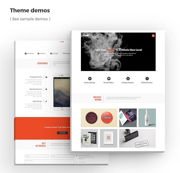 Shade - Creative Template - 4