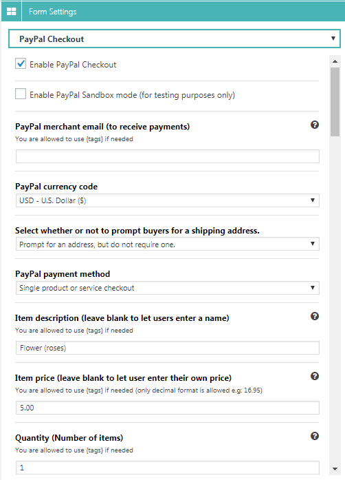Super Forms - PayPal Add-on - 3