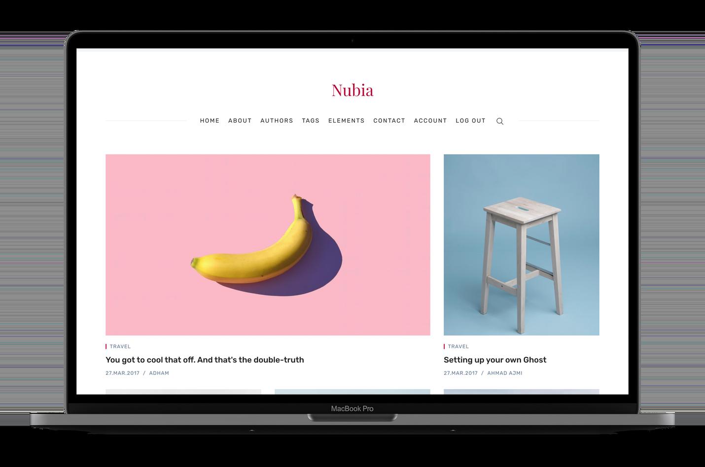 Nubia Blog And Magazine Ghost 3 0 Theme By Aspirethemes Themeforest