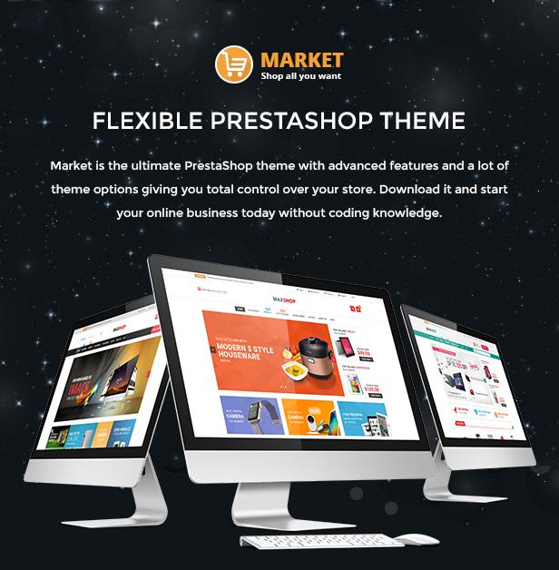 Market - Responsive Multipurpose Prestashop Theme 1