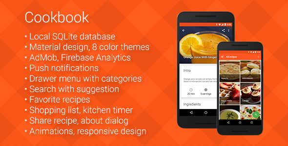 Cookbook - Recipe App for Android