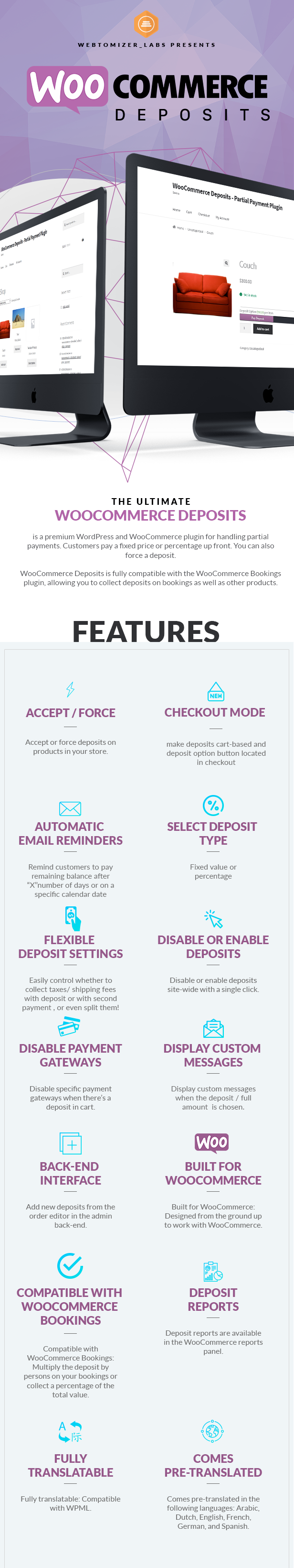 WooCommerce Deposits - Partial Payments Plugin - 1