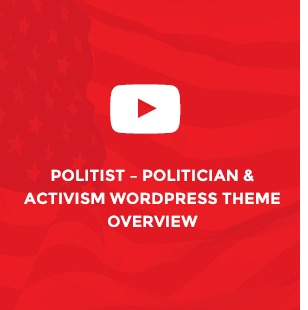 Political WordPress Theme - Political Candidate