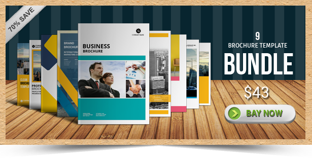 view similar design corporate brochure template corporate landscape