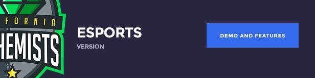 The Alchemists WordPress Theme - eSports version