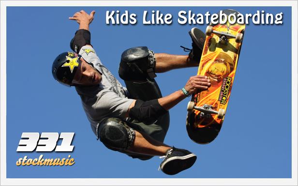 Kids Like Skateboarding 01