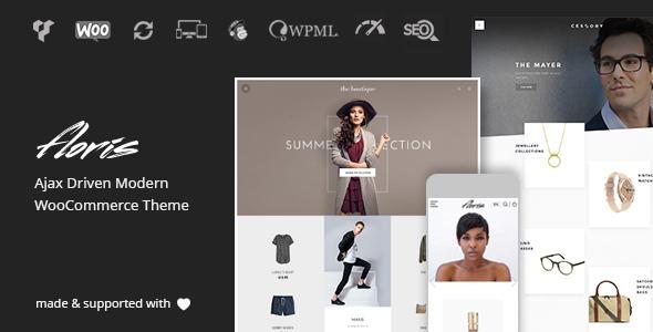 Floris - Minimalist AJAX WooCommerce Theme - WooCommerce eCommerce