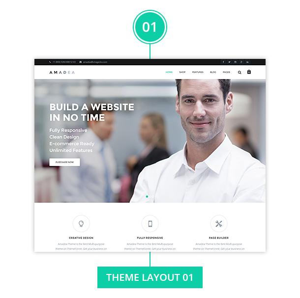 VG Amadea - Multipurpose WordPress Theme - 6