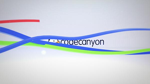 Colorful Ribbon Logo Reveal - 4
