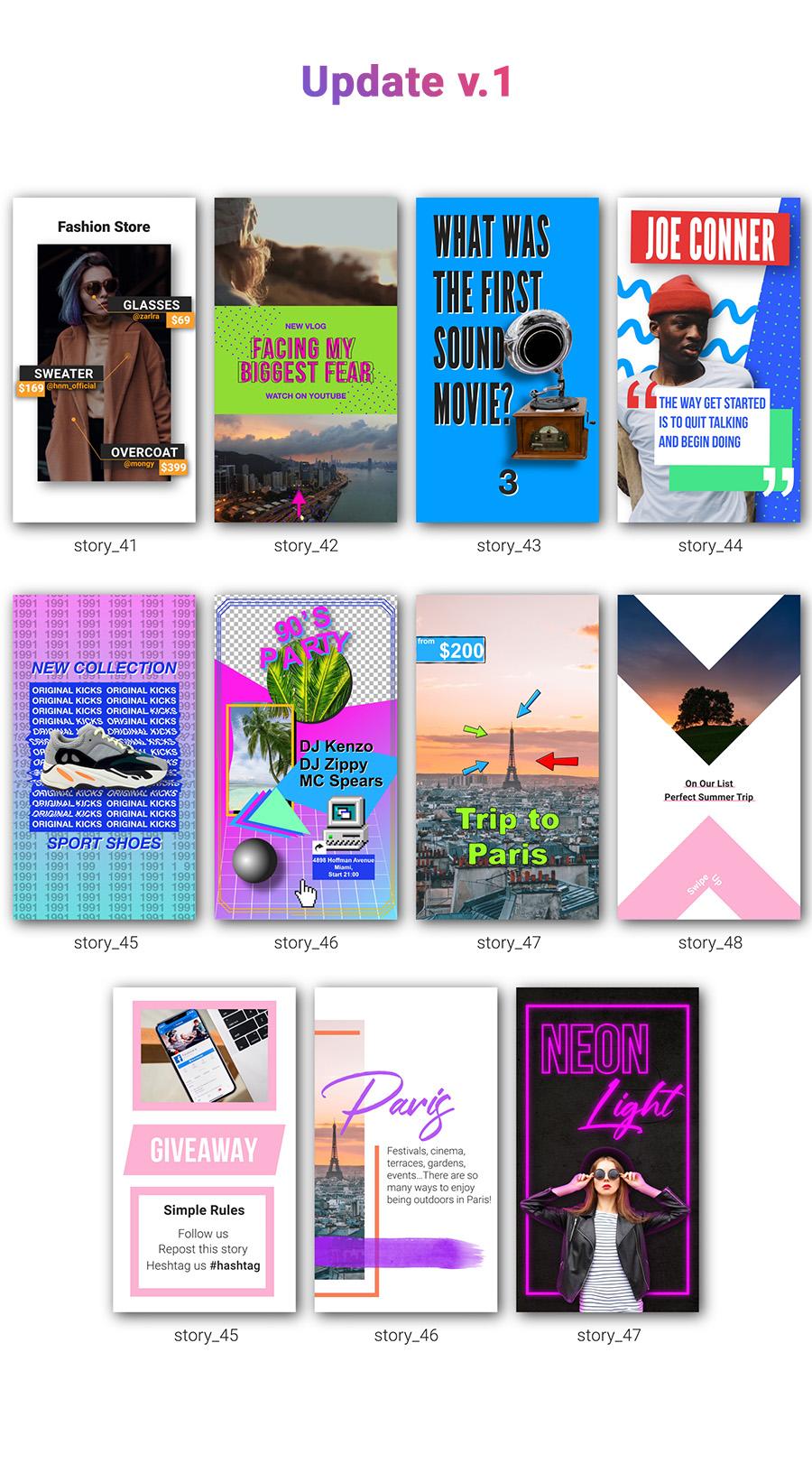 Instagram Stories Kit // Instagram Story Pack - 11
