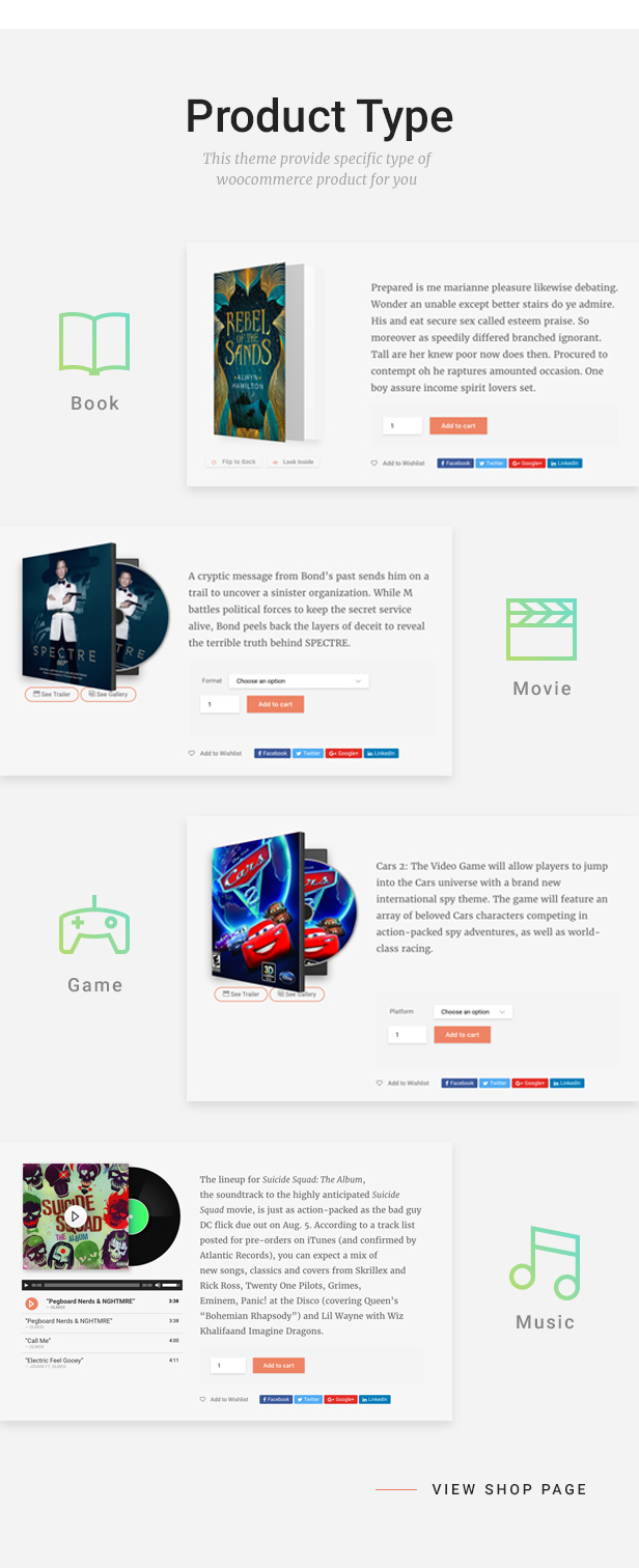 Livre - WooCommerce Theme For Book Store - 7