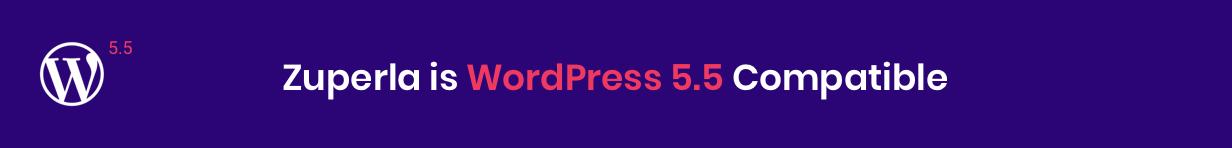 Zuperla WordPress 5.5