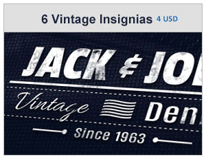 vintage labels and stickers