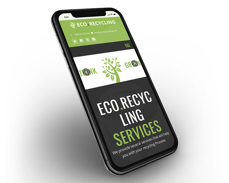 Eco Recycling - Ecology & Nature WordPress Theme - 4