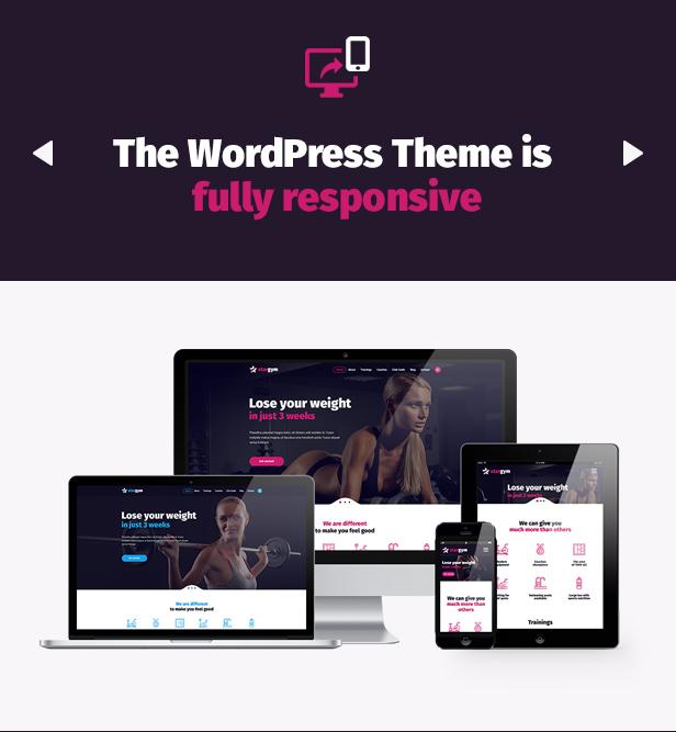Stargym - Gym Trainer, Fitness Club and Gym WordPress Theme - 3