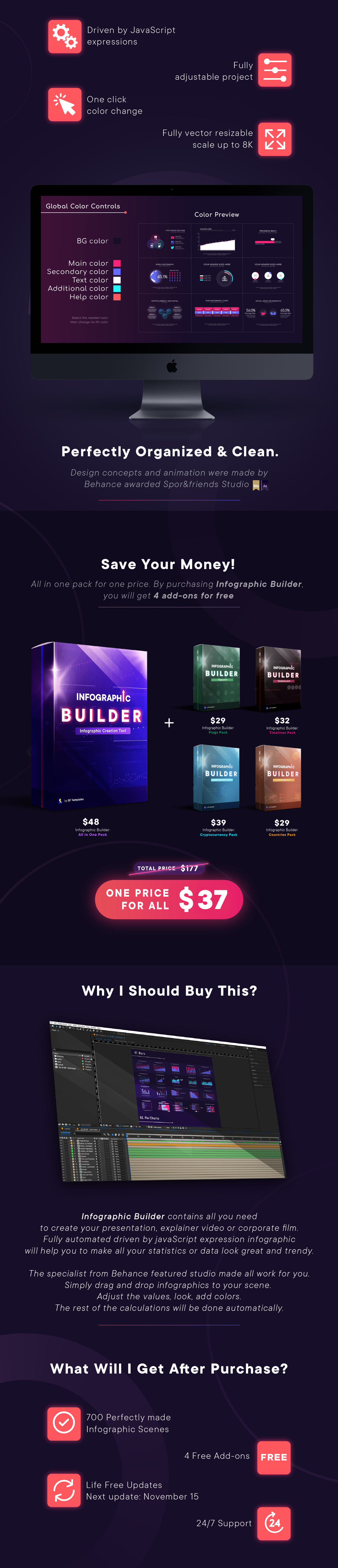 Videohive Infographic Builder V4 Free Download