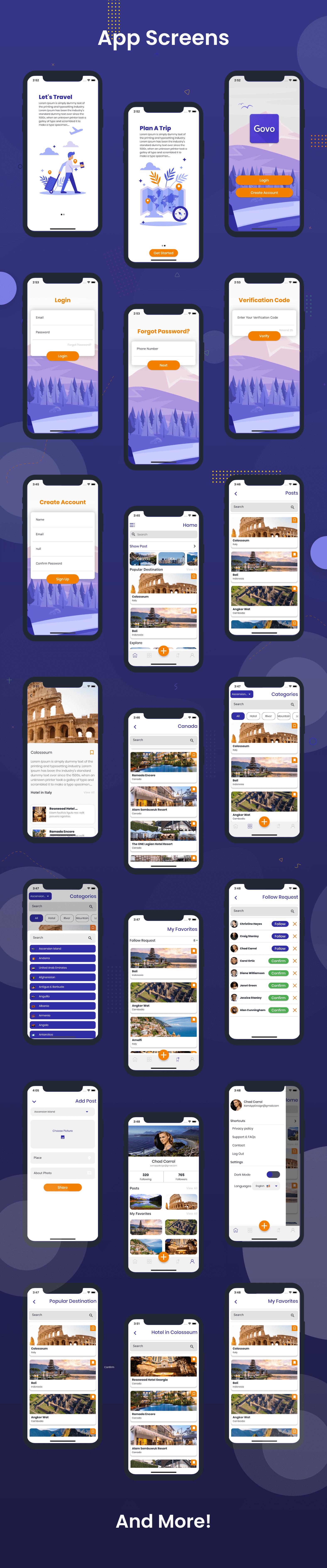Flutter Govo Travel App in Flutter - 12