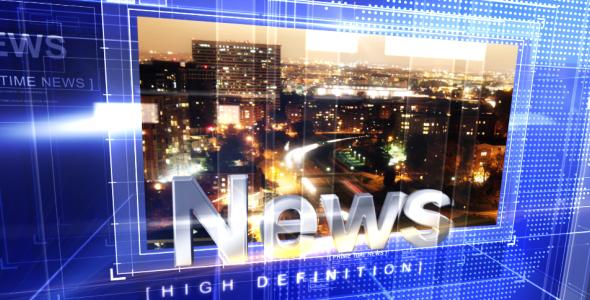 Broadcast Design - Primetime News Open - 1