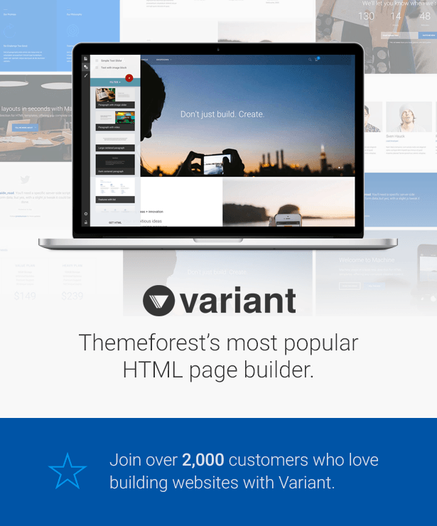 Variant Page Builder
