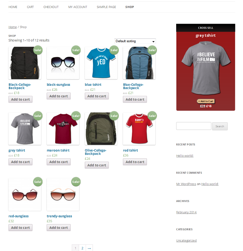 Related Products Widget for WooCommerce - 6