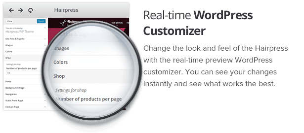 Real-time WP Customizer