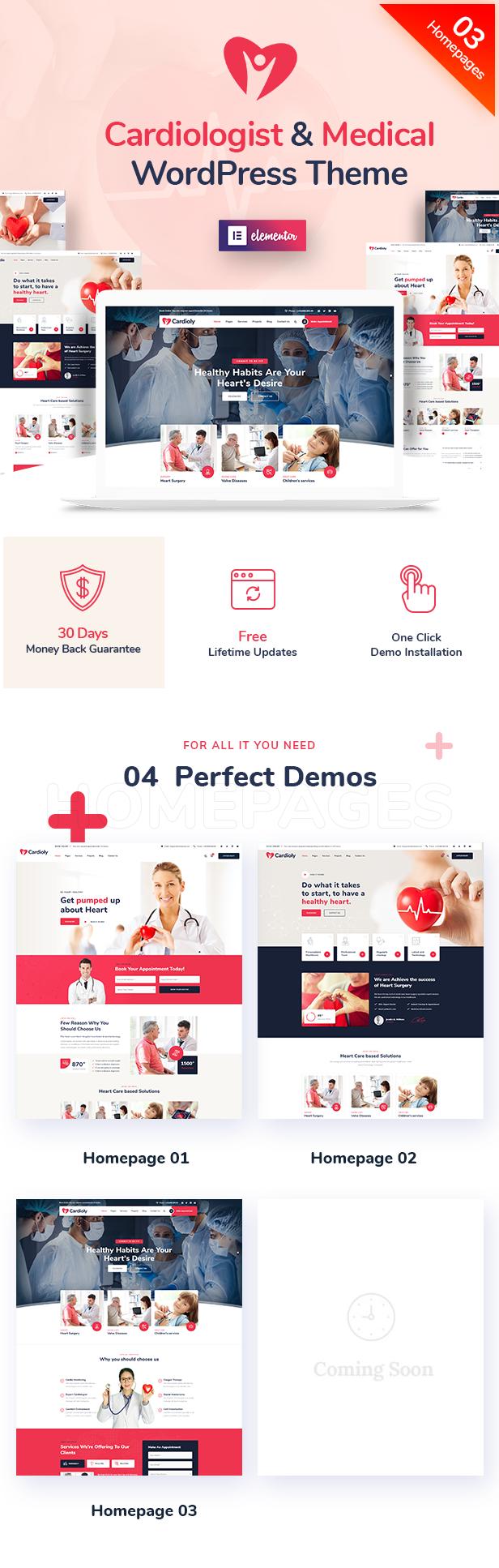 Cardioly WordPress Theme