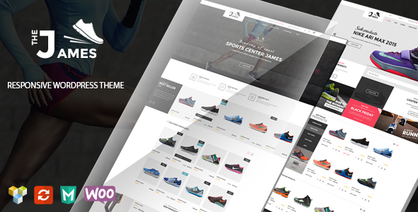 James - Responsive WooCommerce Shoes Theme - WooCommerce eCommerce