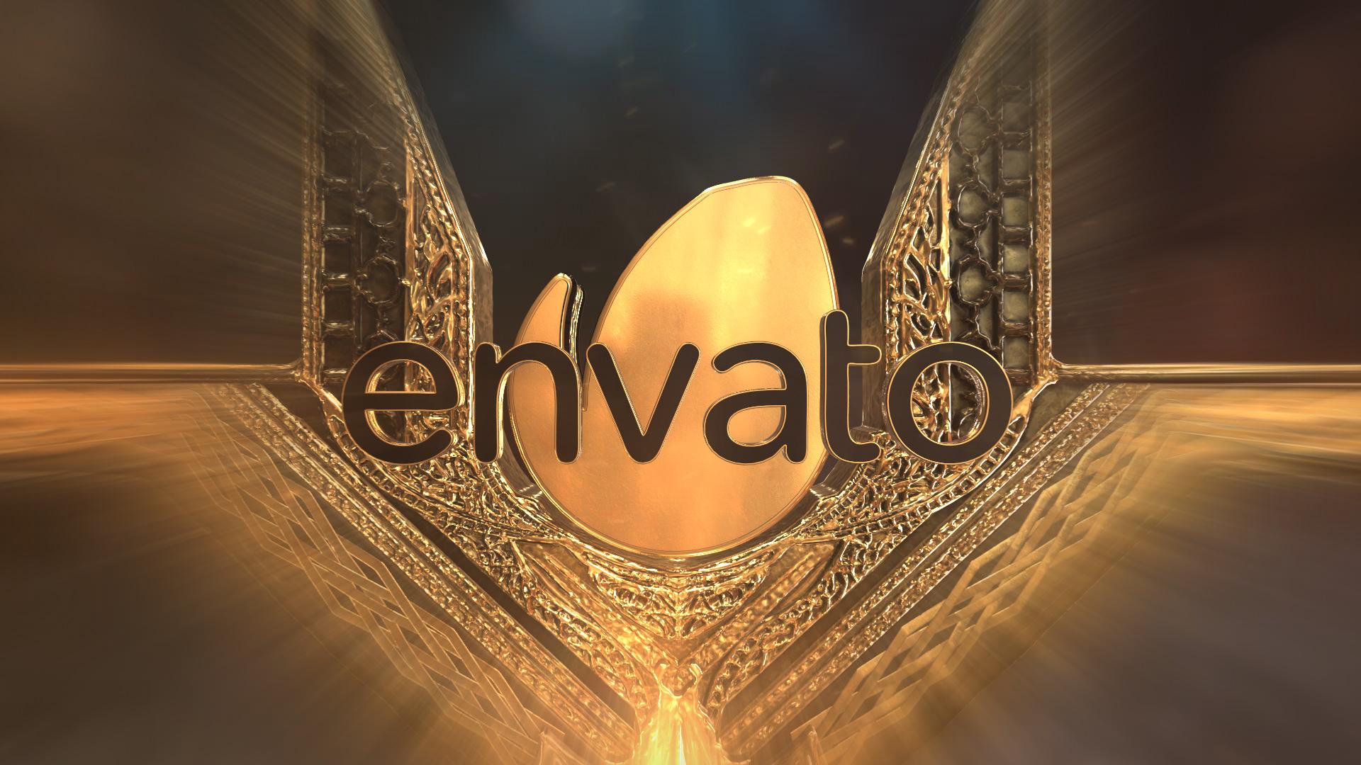 Gold Element Logo - 5