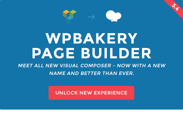wpbakery page builder formerly visual composer current version 547 available for download
