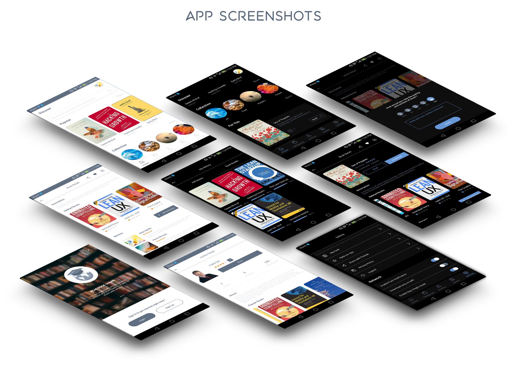 Books4u - Android Ebook App + Admin panel - 10