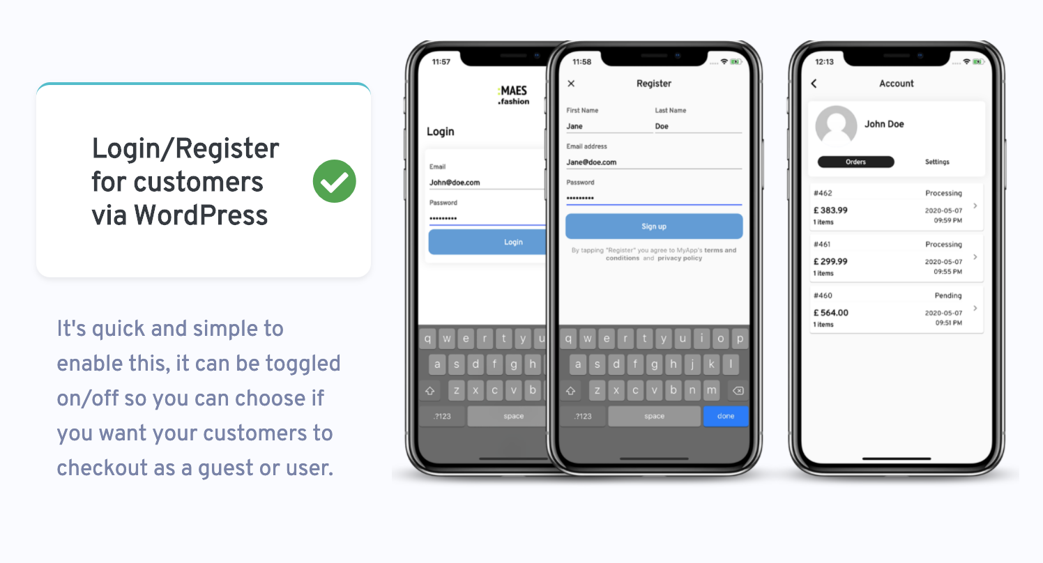 WooMobile - Flutter WooCommerce App Template for IOS and Android - 2