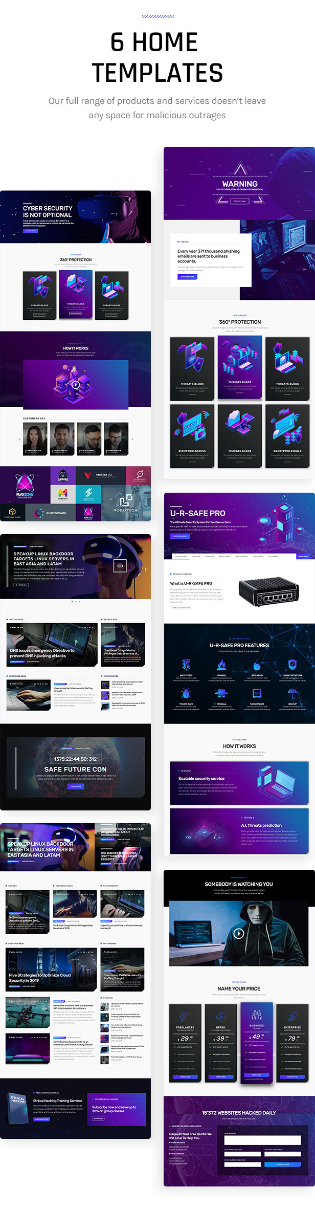 Firwl - Cyber Security WordPress Theme - 3