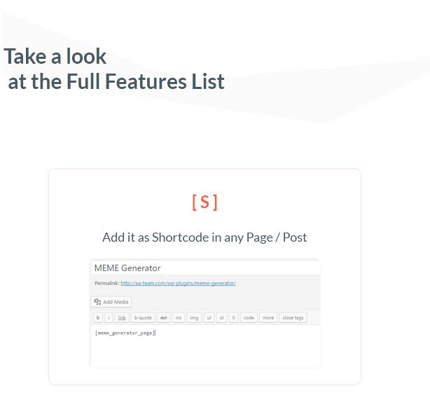 Ultimate Meme Generator - WordPress Plugin - 2