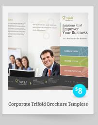 Rebellion Trifold Brochure - PSD Template - 11