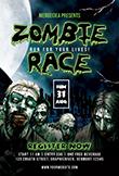 Zombie Race Flyer