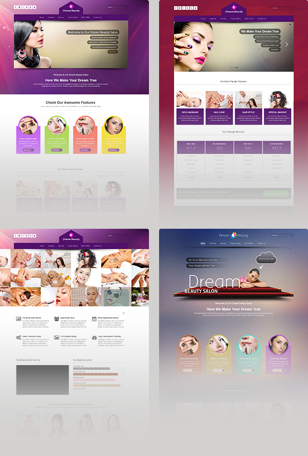 Dream Beauty Salon Mockup
