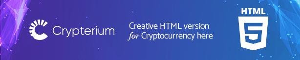 Crypterium - Cryptocurrency -  ICO Landing Page WordPress Theme - 4