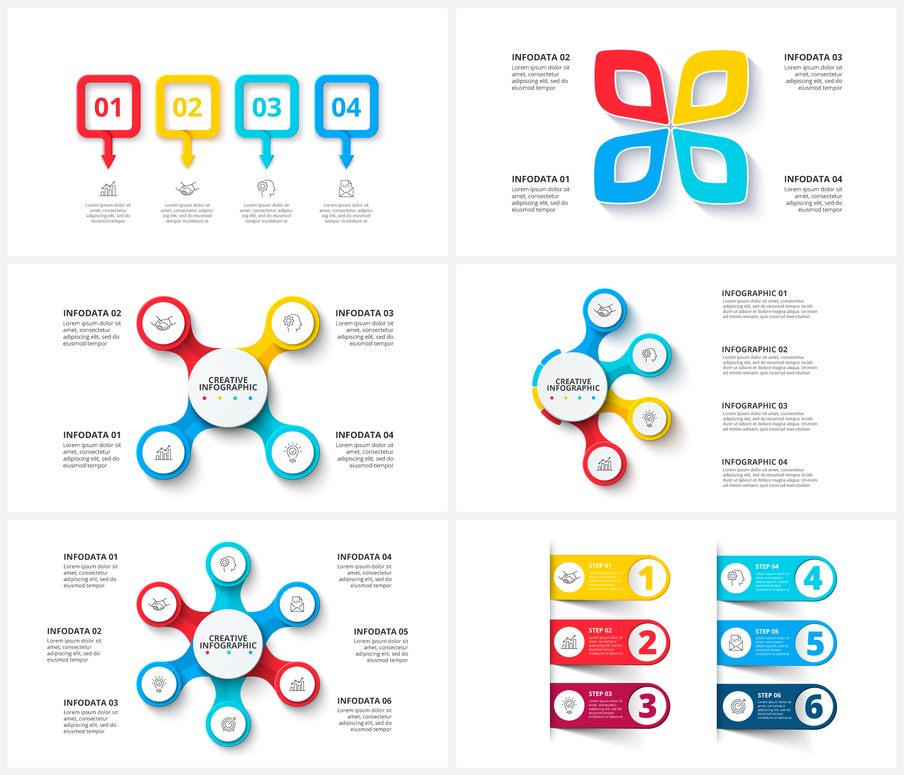 Multipurpose Infographics PowerPoint Templates v.5.0 - 112