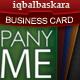 Lightbulb Business Card - 3