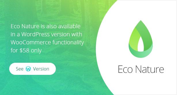 eco nature theme