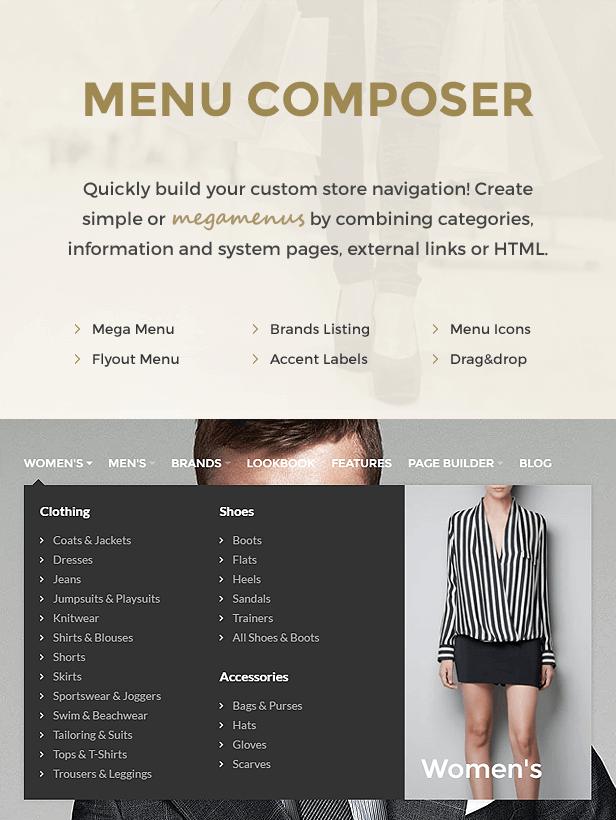 Trendo - Minimalist Moda Mağazası OpenCart Teması - 9