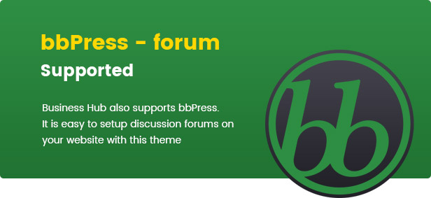 business hub supports bbpress